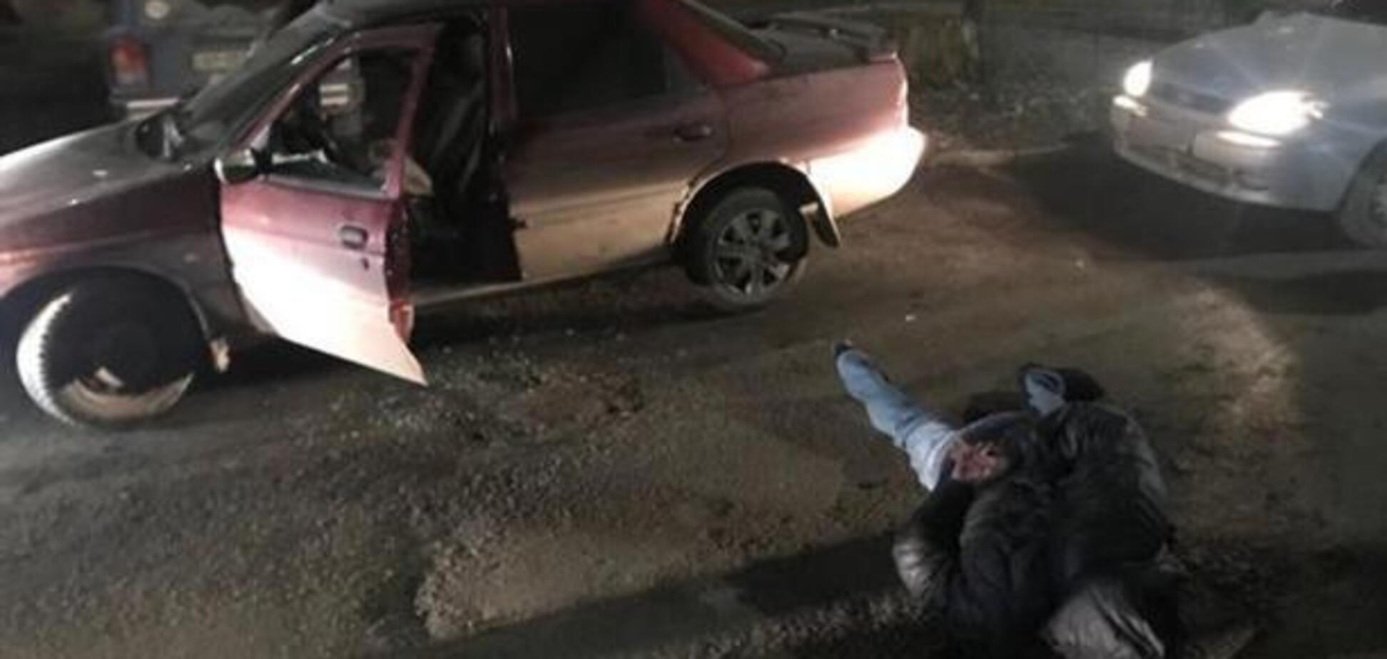 Запорожские полицейские задержали банду автоугонщиков