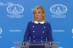 Захарова съязвила о запрете россиянам наблюдать за выбрами в Украине