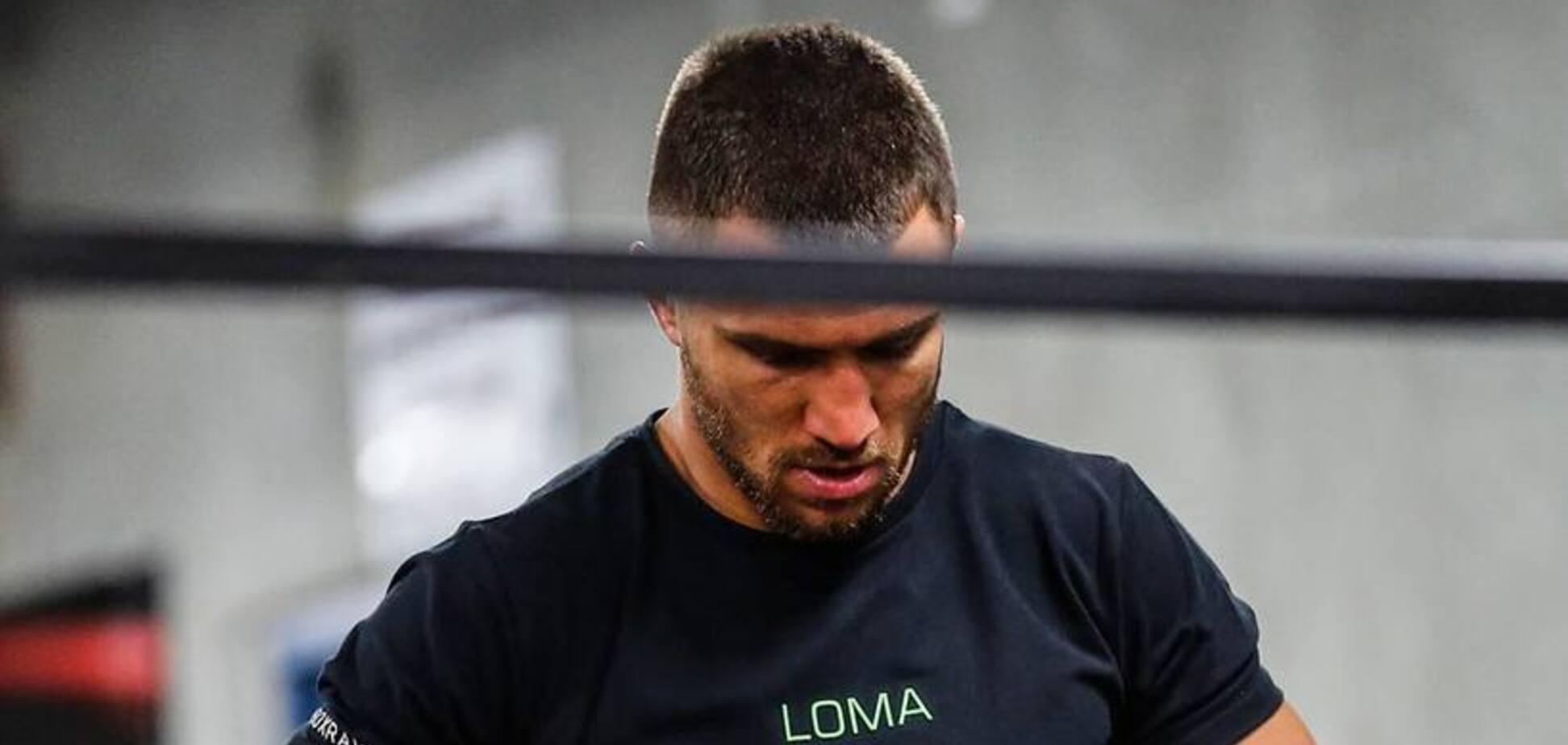 Ломаченко залишився без суперника перед боєм