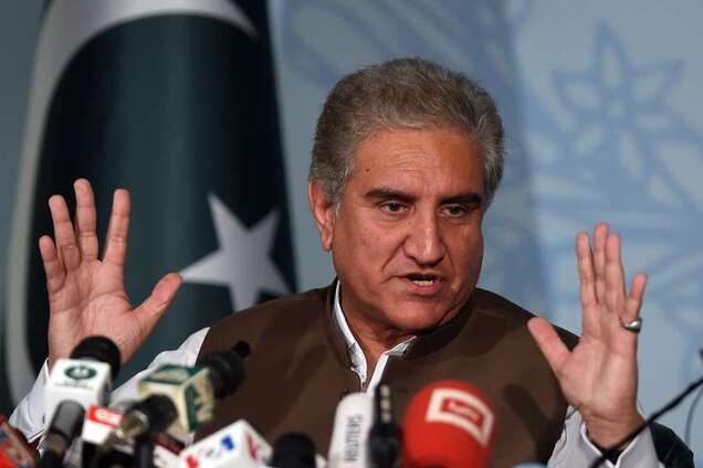 Міністр закордонних справ Пакистану Шах Махмуд Куреші