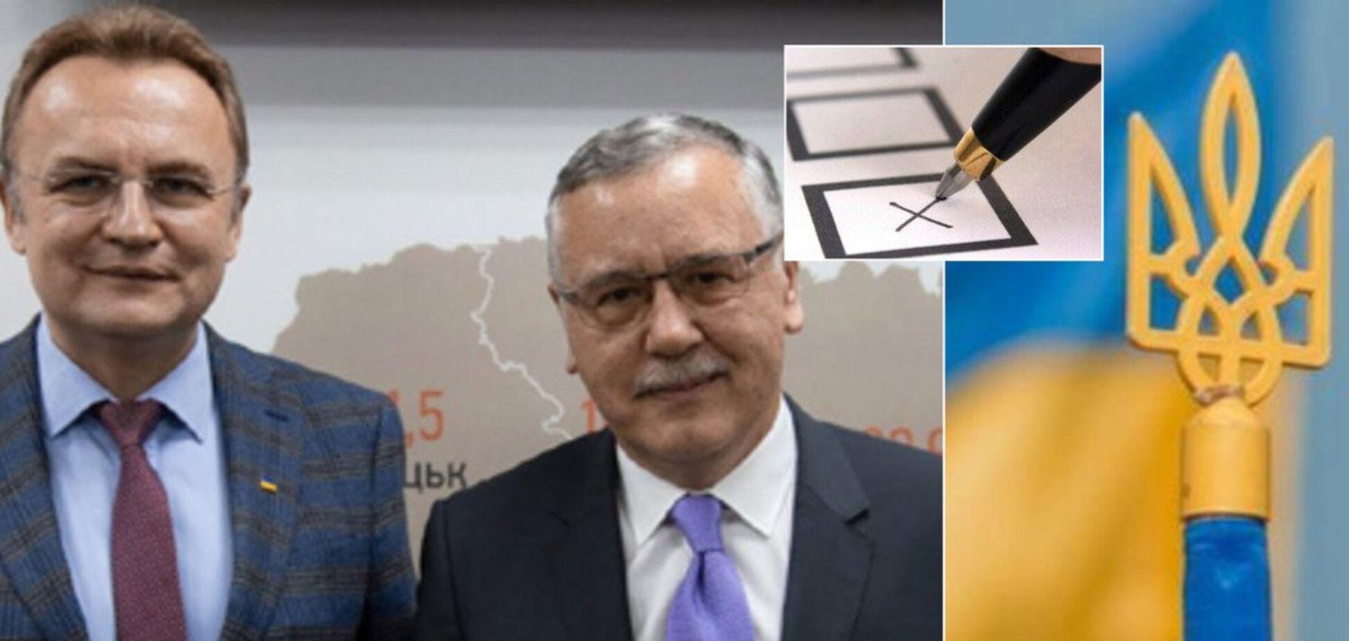 Выборы президента Украины: Садовый снял свою кандидатуру в пользу Гриценко