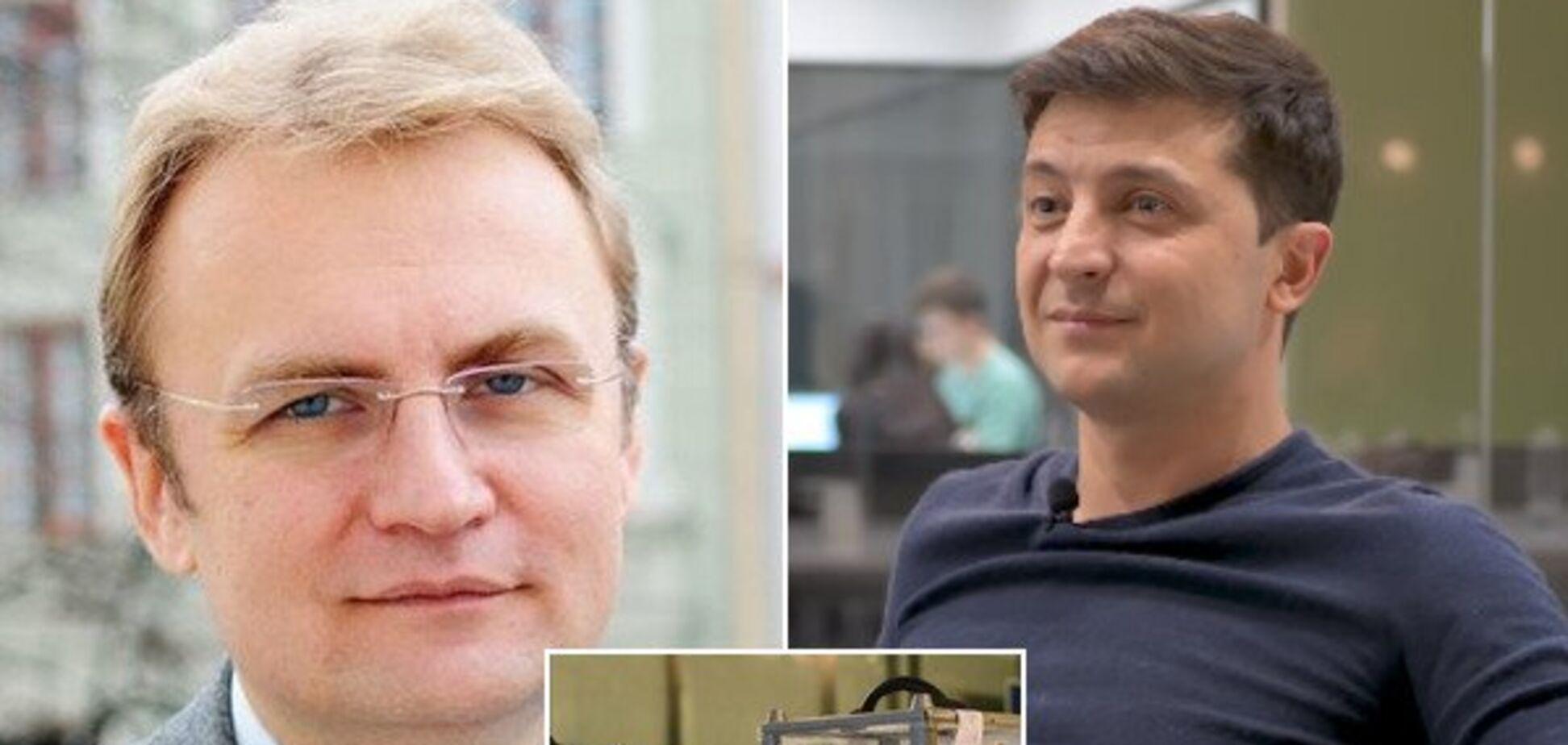 Садовый и Зеленский провели 'приятную' встречу: первые подробности