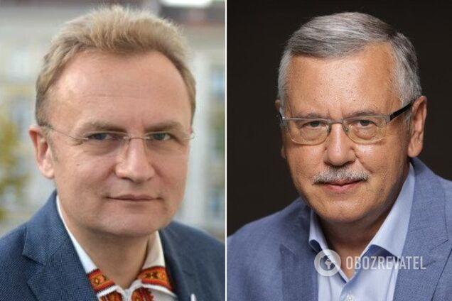 Андрій Садовий і Анатолій Гриценко