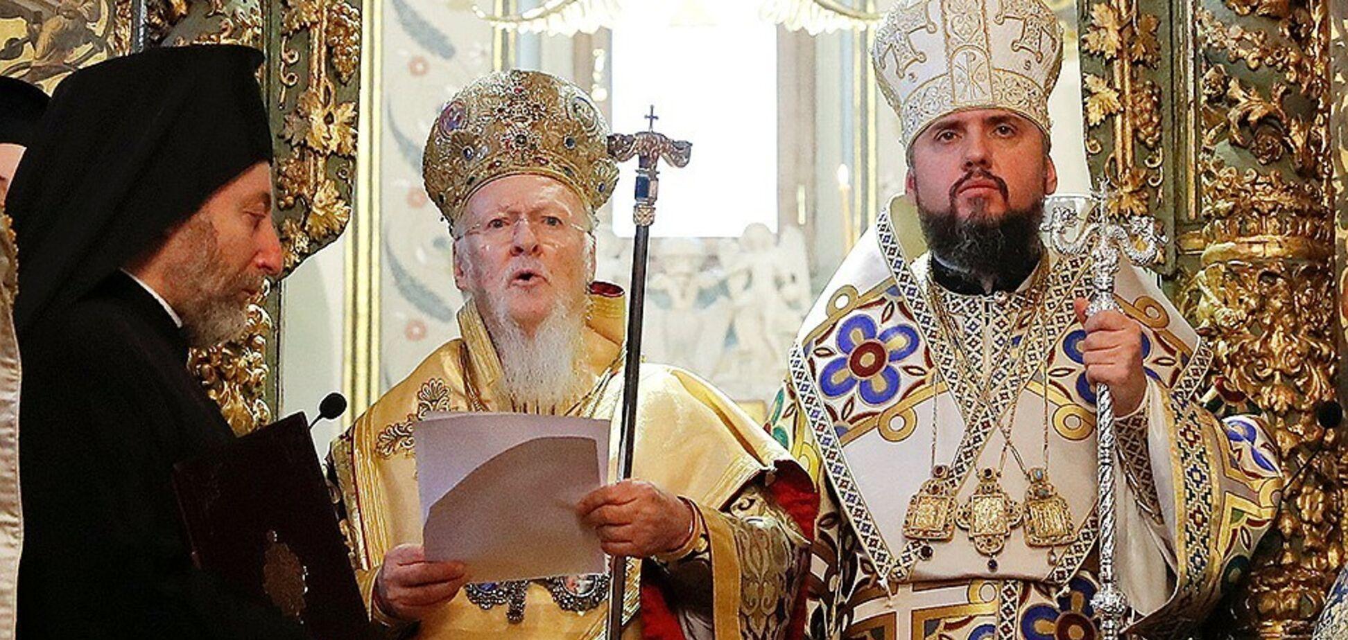 'Судить Варфоломея': в РПЦ нацелились на престол в Константинополе