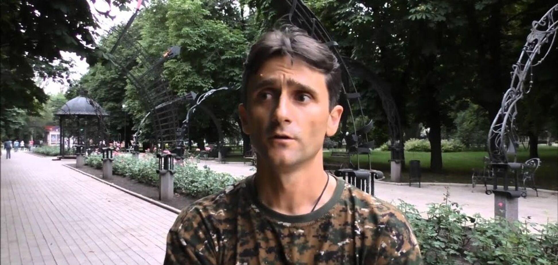 'Гвинтівку сховав у гардеробі': біля Захарової засвітився відомий найманець 'ДНР'