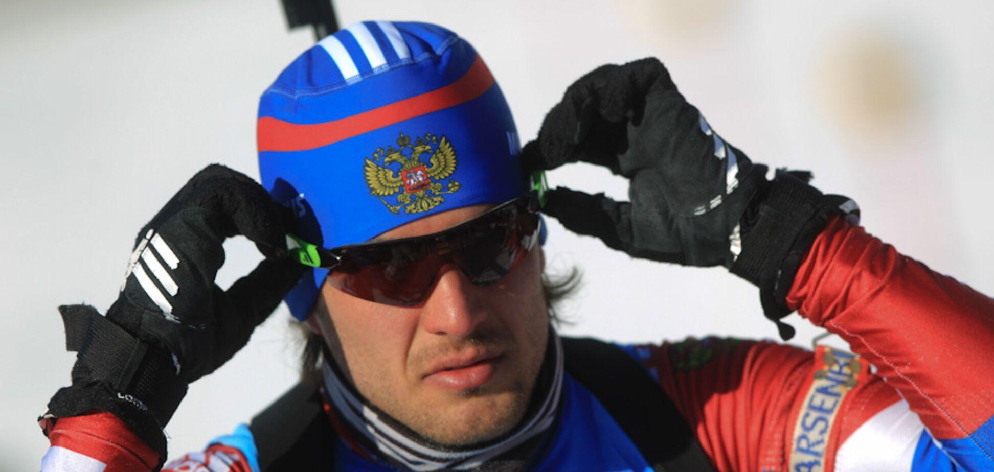 Біатлоніст збірної Росії зганьбився на ЧС, по-дурному позбавивши себе медалі