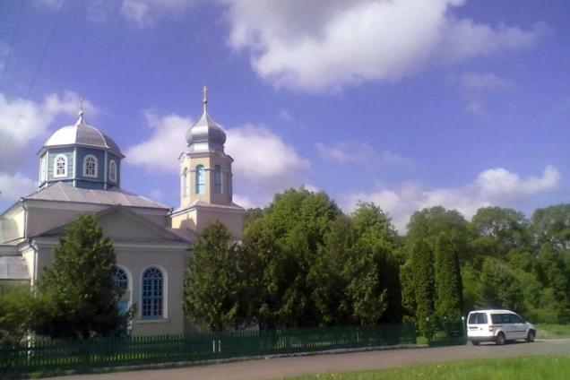 Свято-Николаевская церковь в Сестрятине