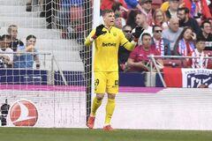 'Реал' подставил вратаря сборной Украины