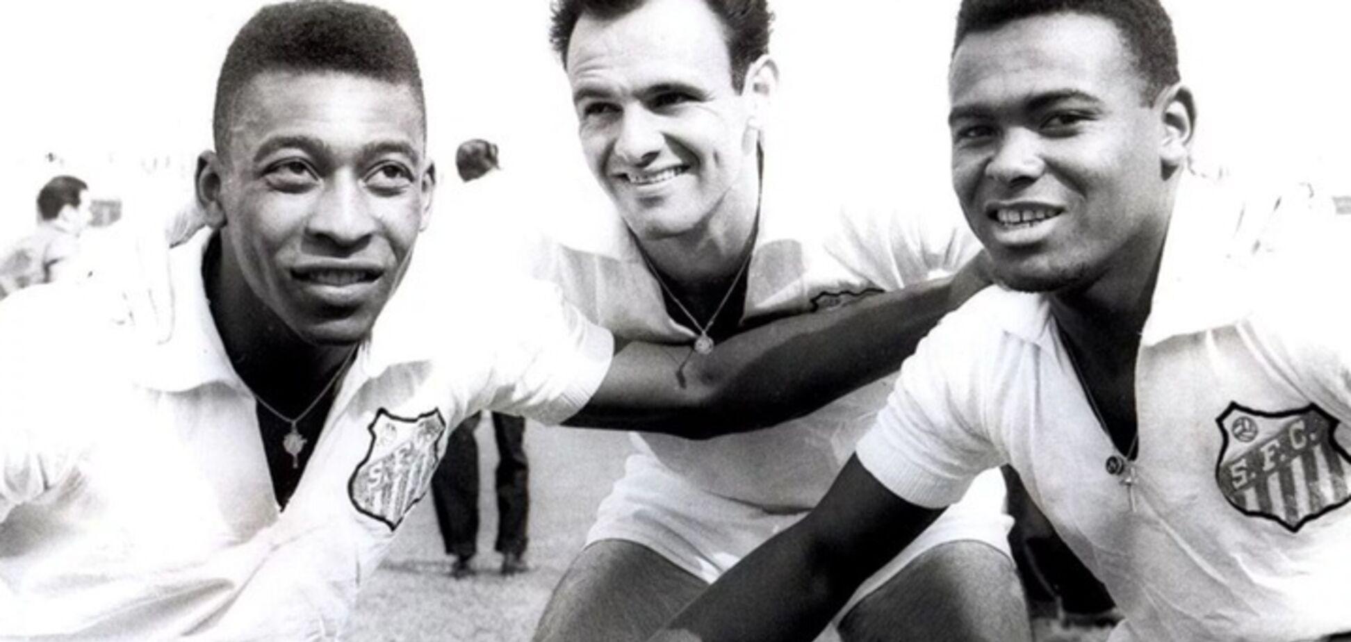 Помер легендарний футболіст збірної Бразилії