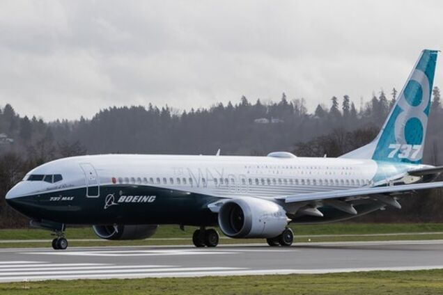 Иллюстрация. Boeing 737 MAX