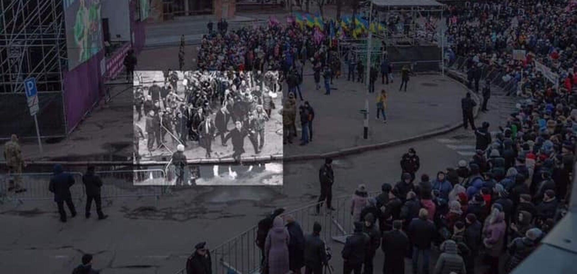 Обрезанное фото Порошенко — это дно