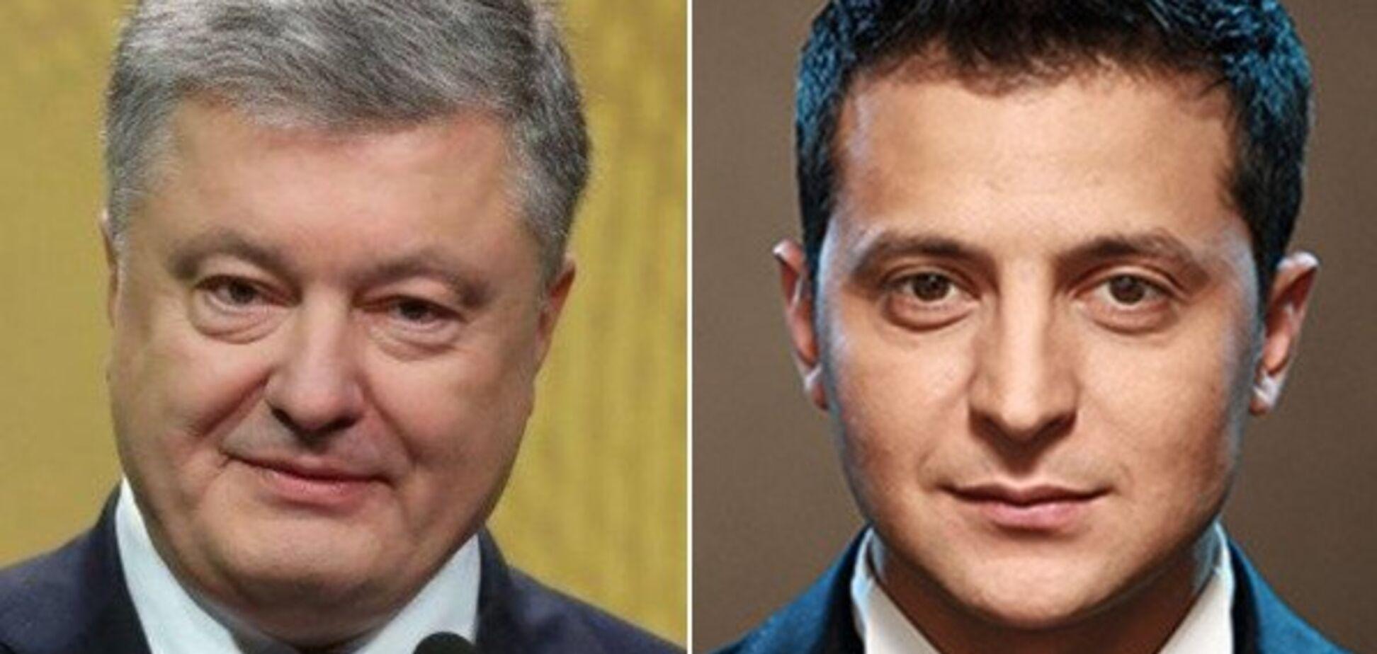 Выборы в Украине: Зеленский и Порошенко проходят во второй тур