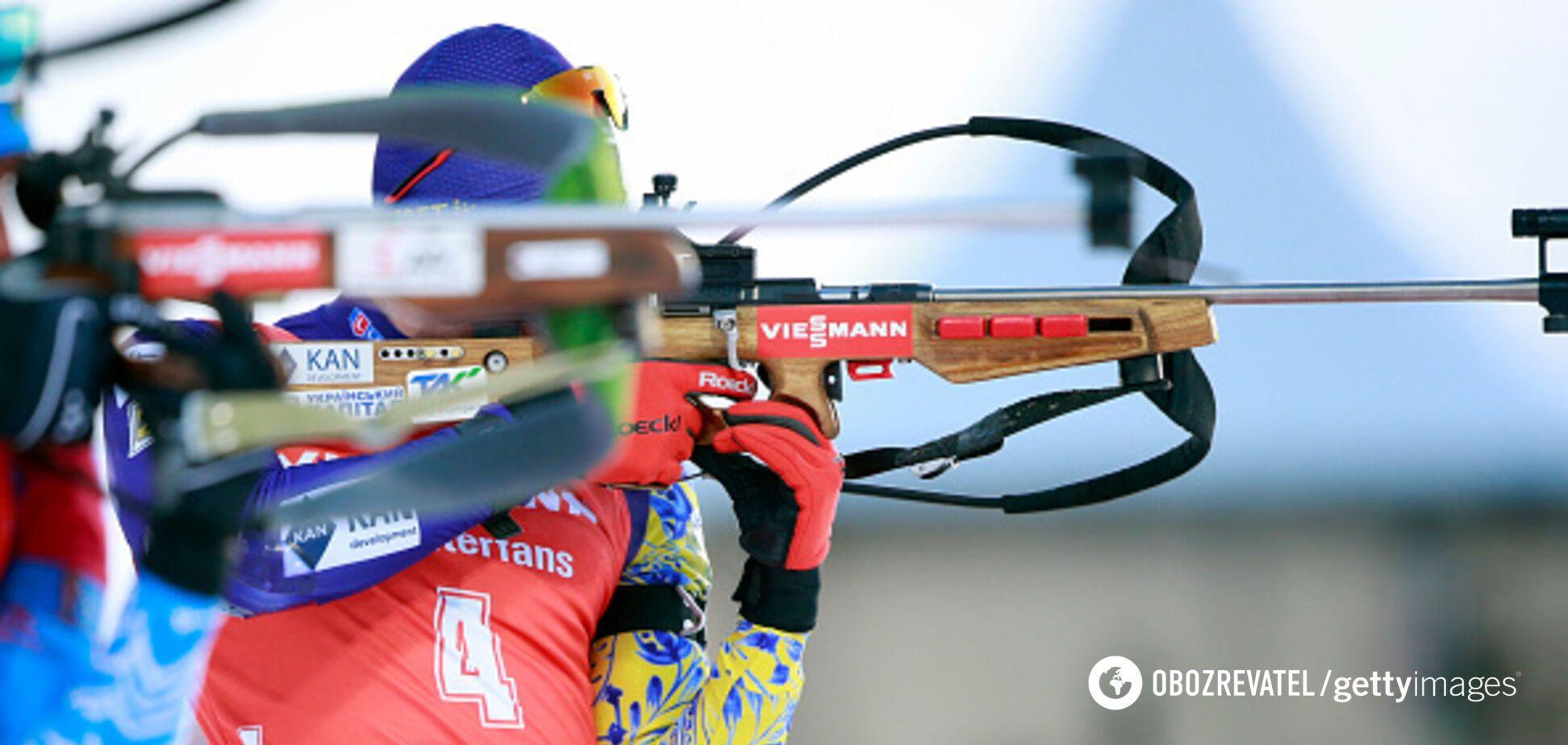 Українці зіткнулися з несподіваною проблемою на чемпіонаті світу з біатлону