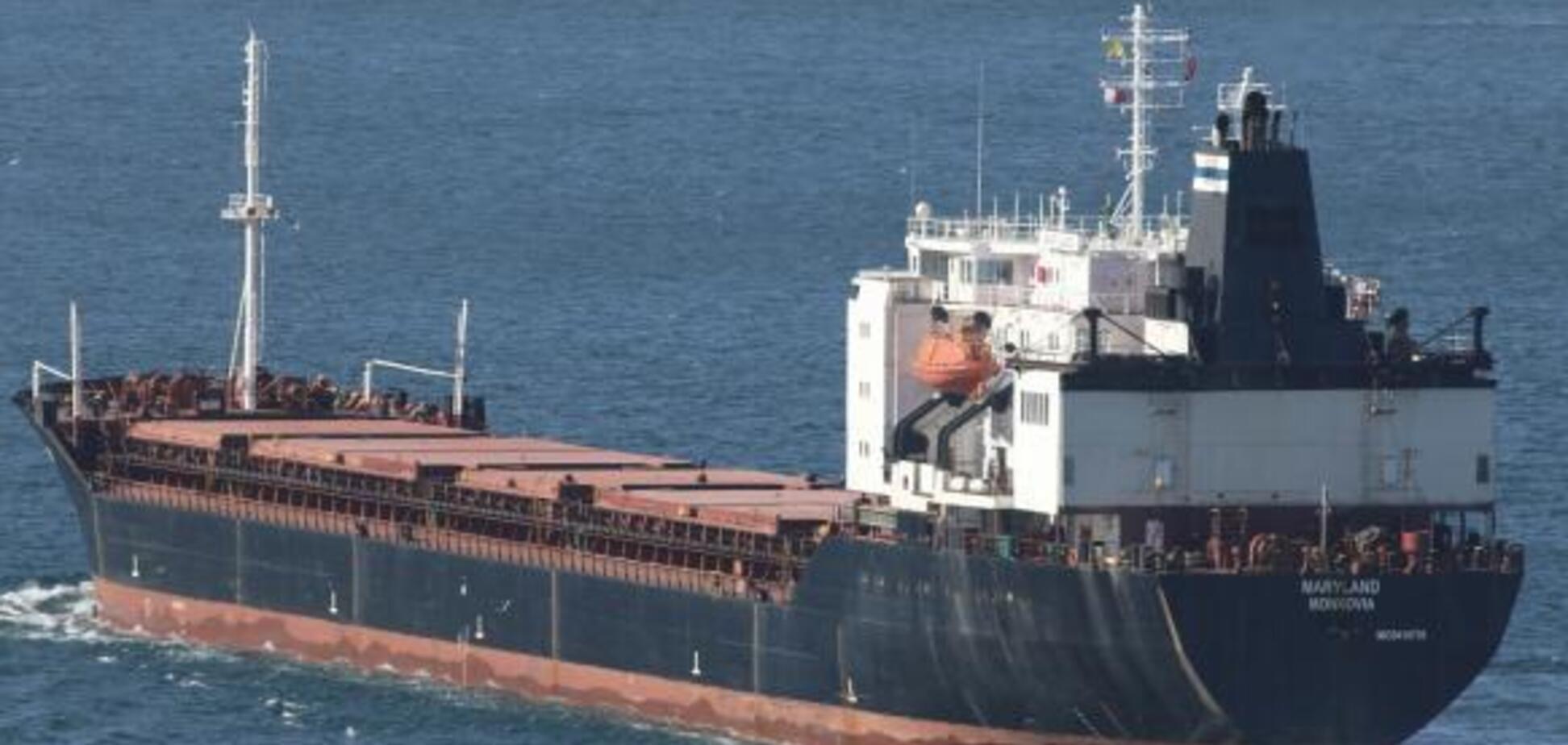 Шел из Мариуполя: в Керченском проливе произошло серьезное ЧП с кораблем