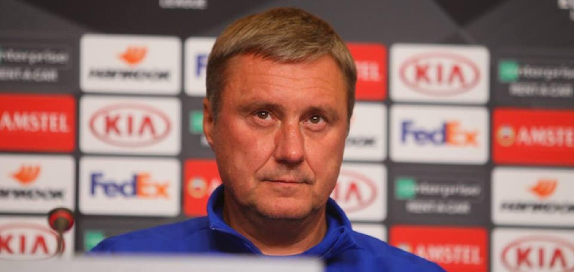 Хацкевич осадил СМИ после вылета из ЛЕ