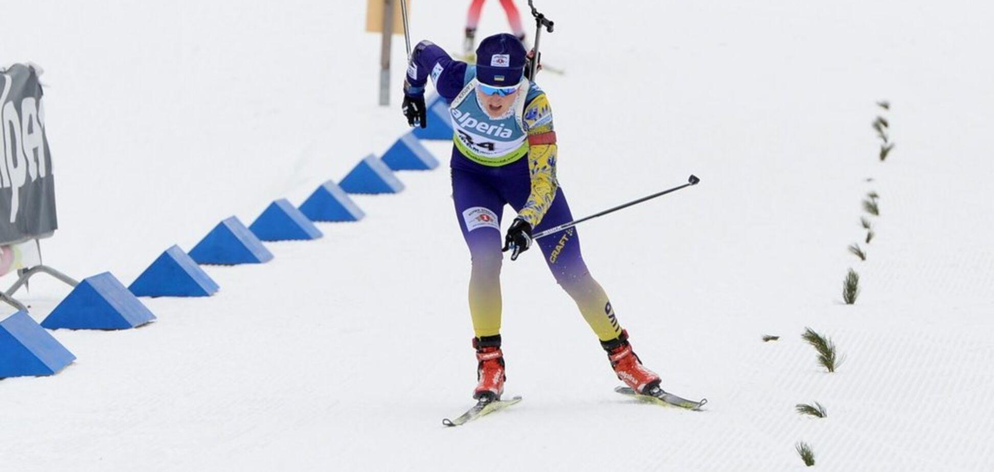 Украинская биатлонистка взяла 'золото' Кубка IBU, опередив россиянку