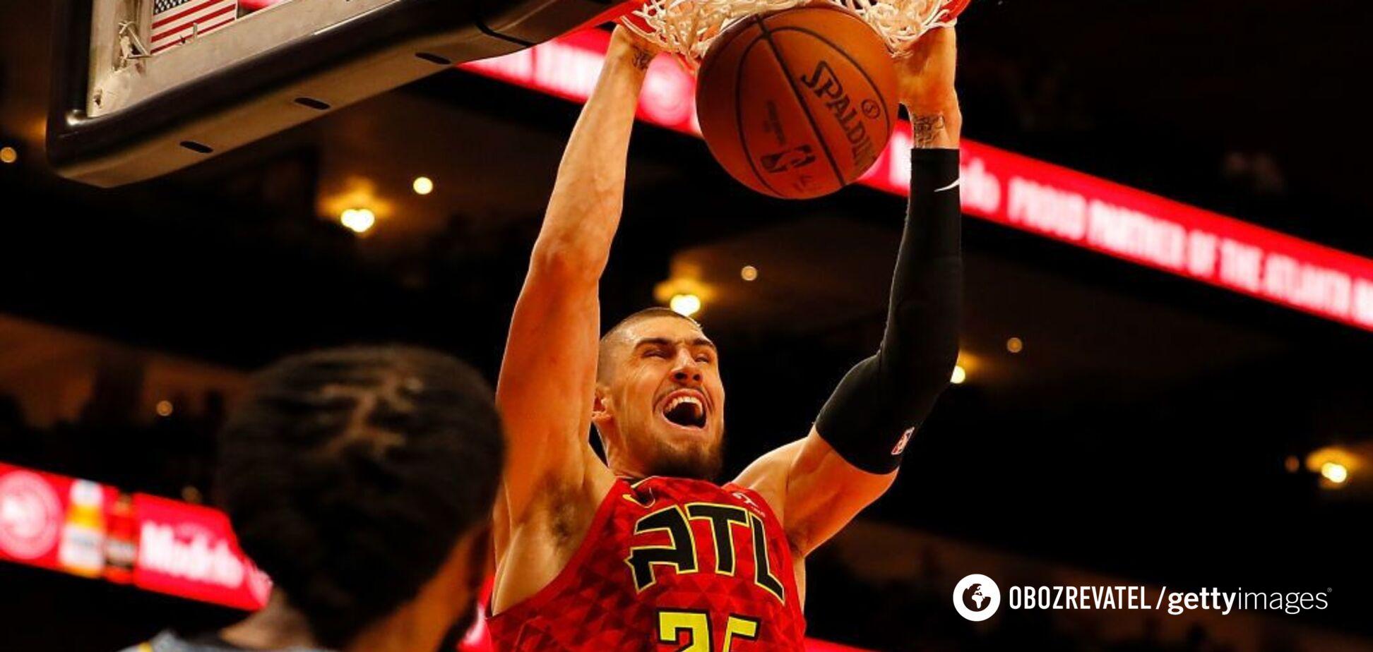 Украинец Лэнь провел шикарный матч в НБА