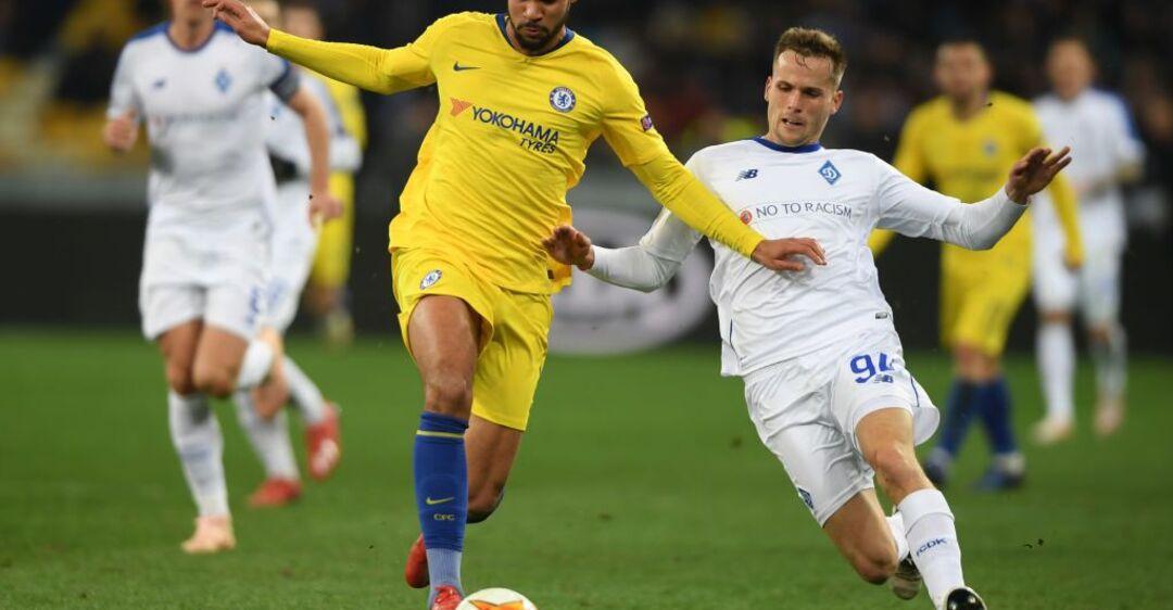 'Динамо' повторно проиграло 'Челси' и вылетело из Лиги Европы