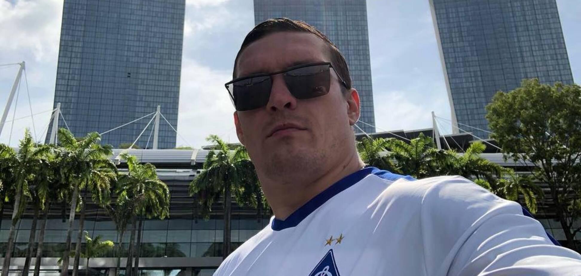 'Ушел домой плакать': Усик решился на неожиданный шаг после поражения 'Динамо'