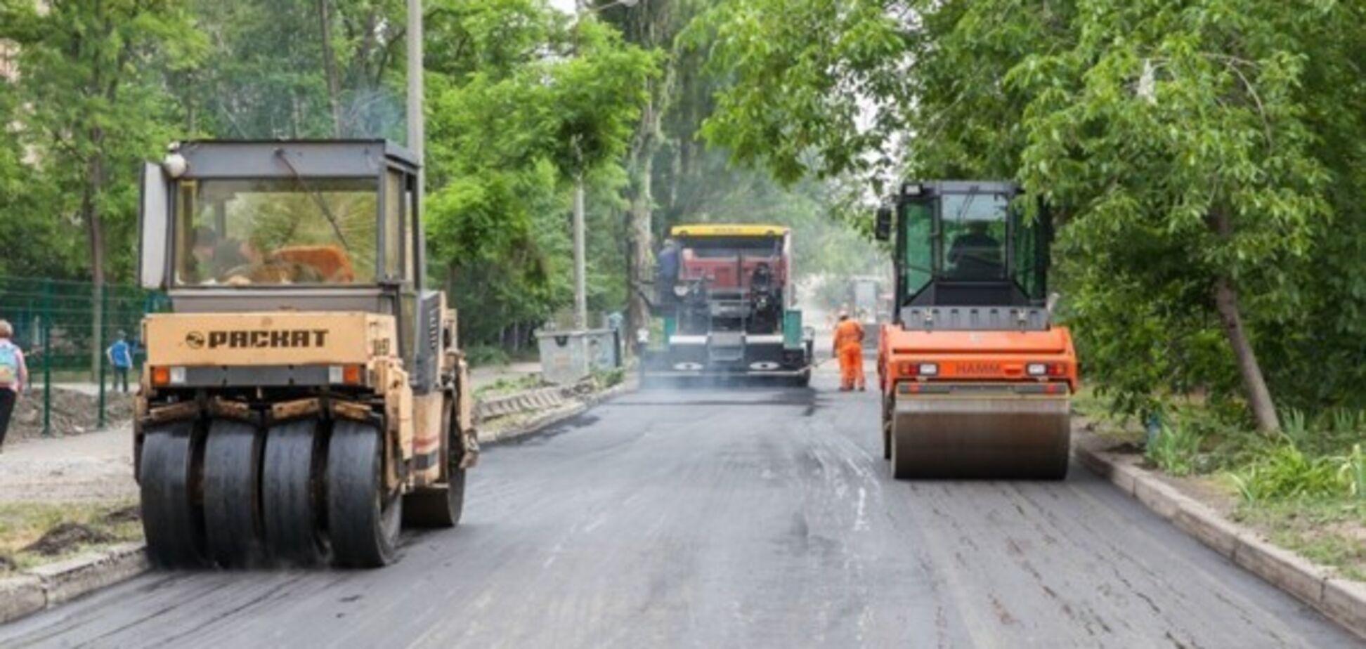 На ремонт запорожских дорог собираются потратить почти 200 миллионов гривен