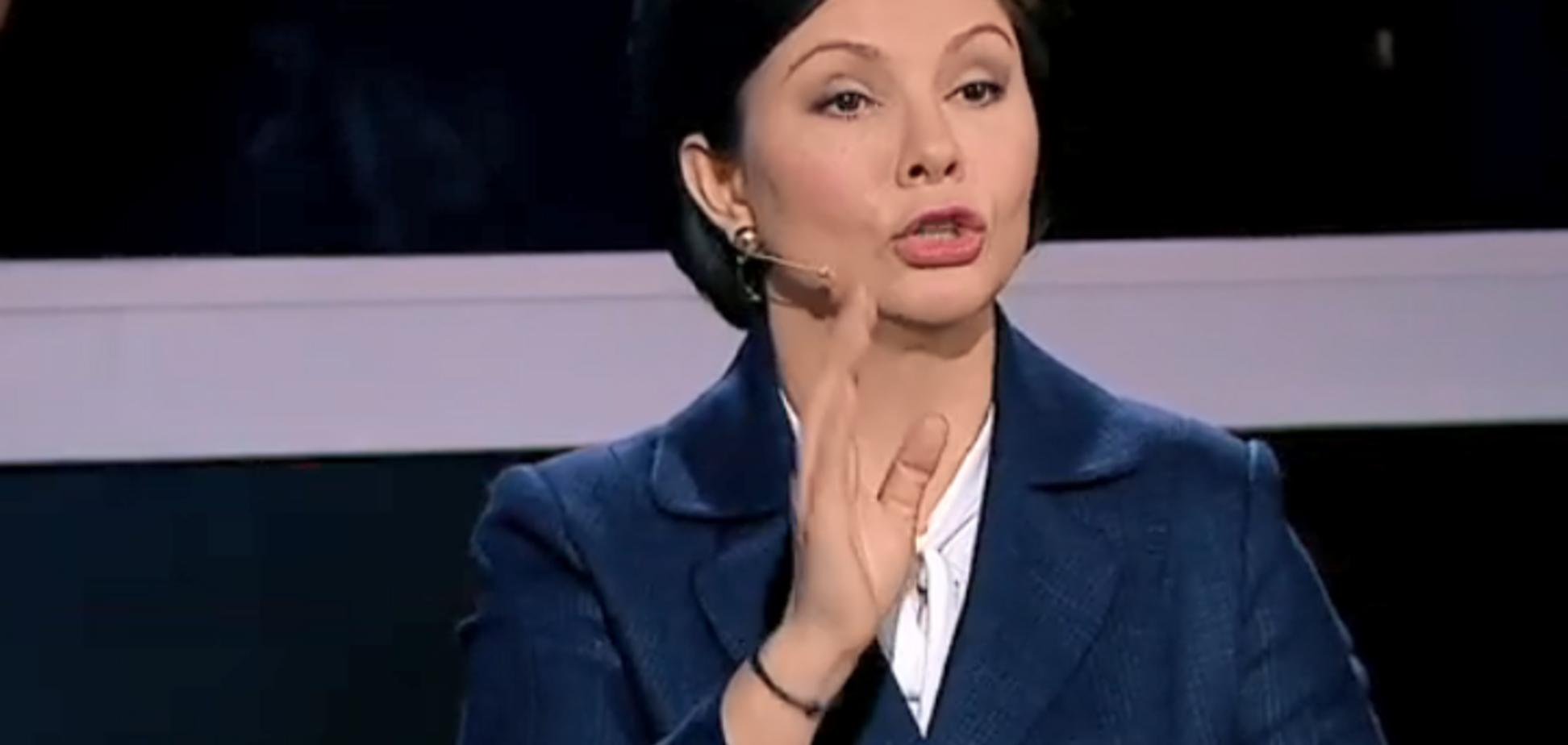 'Не позволю!' Бондаренко неожиданно выступила против раздела Украины на росТВ