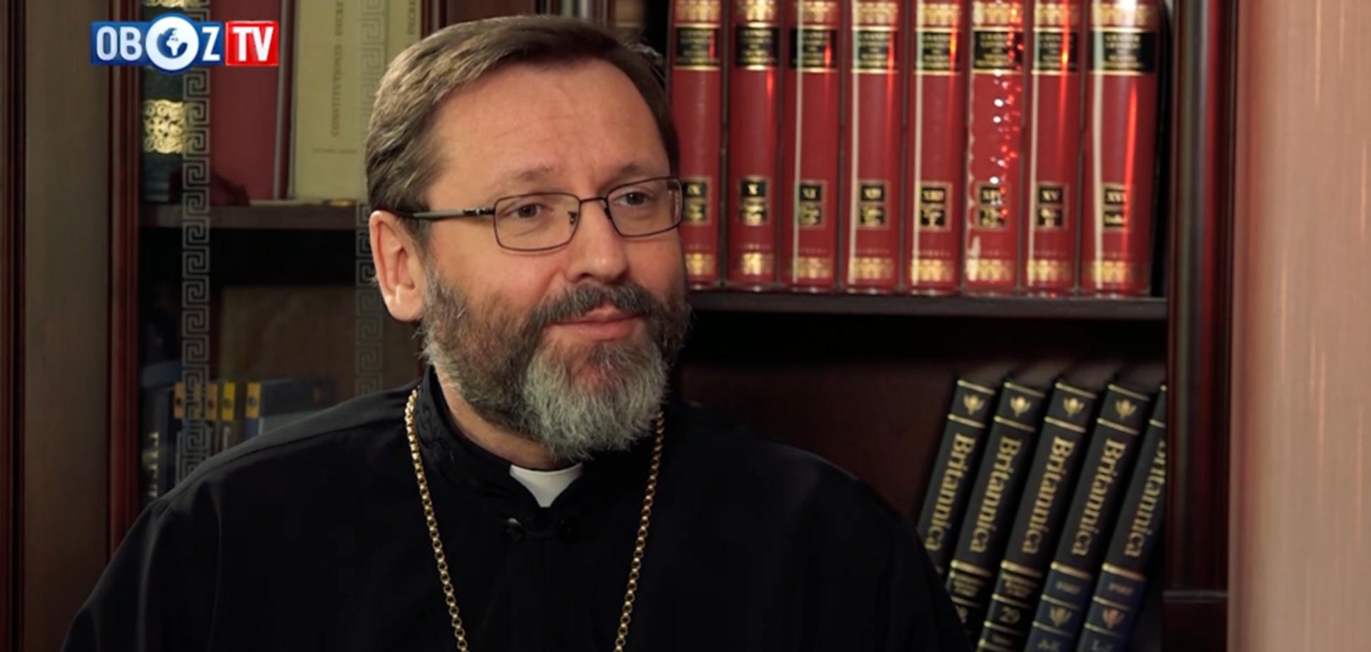 Об'єднання церков: глава УГКЦ розкрив деталі зустрічі з главою ПЦУ Єпіфаній