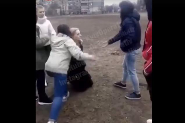 Бійка неповнолітніх