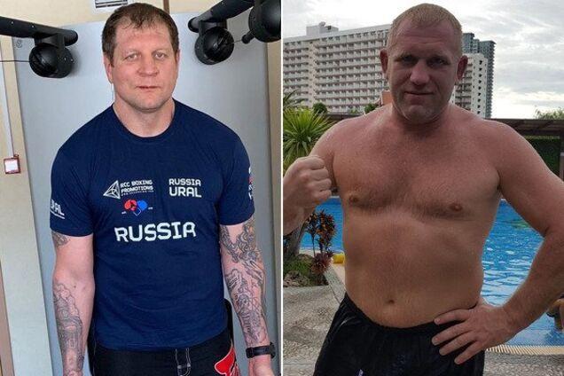Александр Емельяненко и Сергей Харитонов