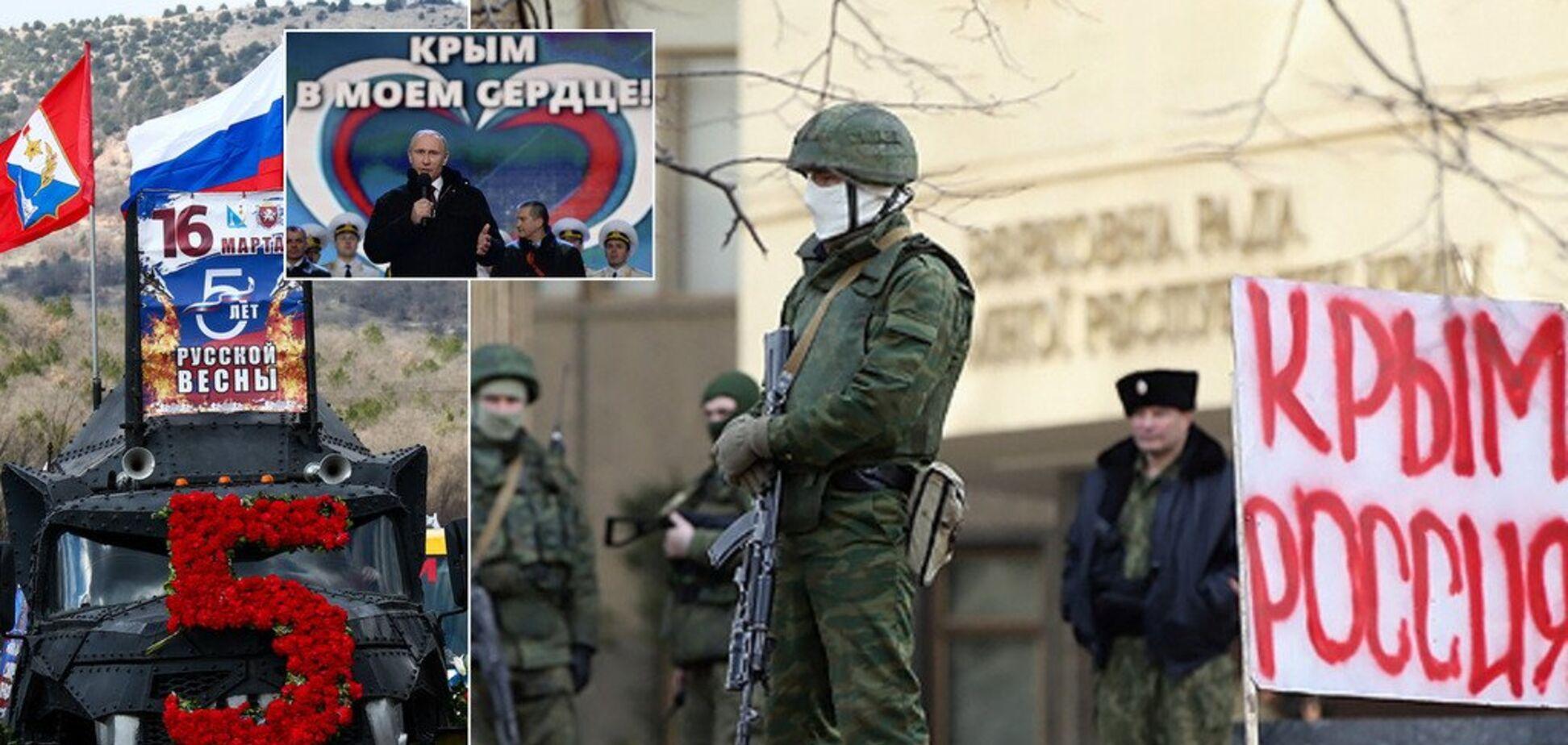 5 лет аннексии Крыма: как оккупанты уничтожают полуостров