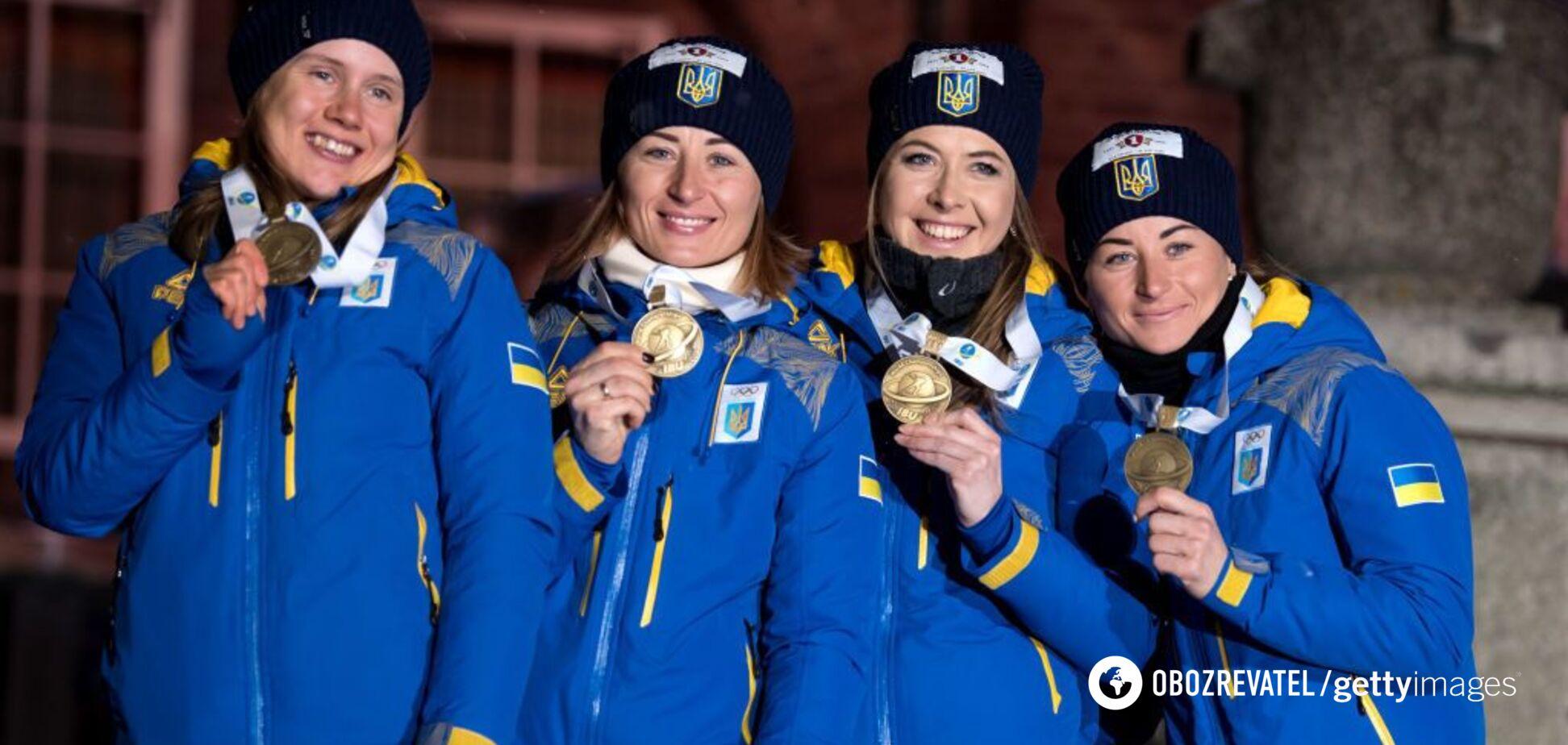 Украина финишировала в топ-5 медального зачета ЧМ по биатлону, опередив Россию