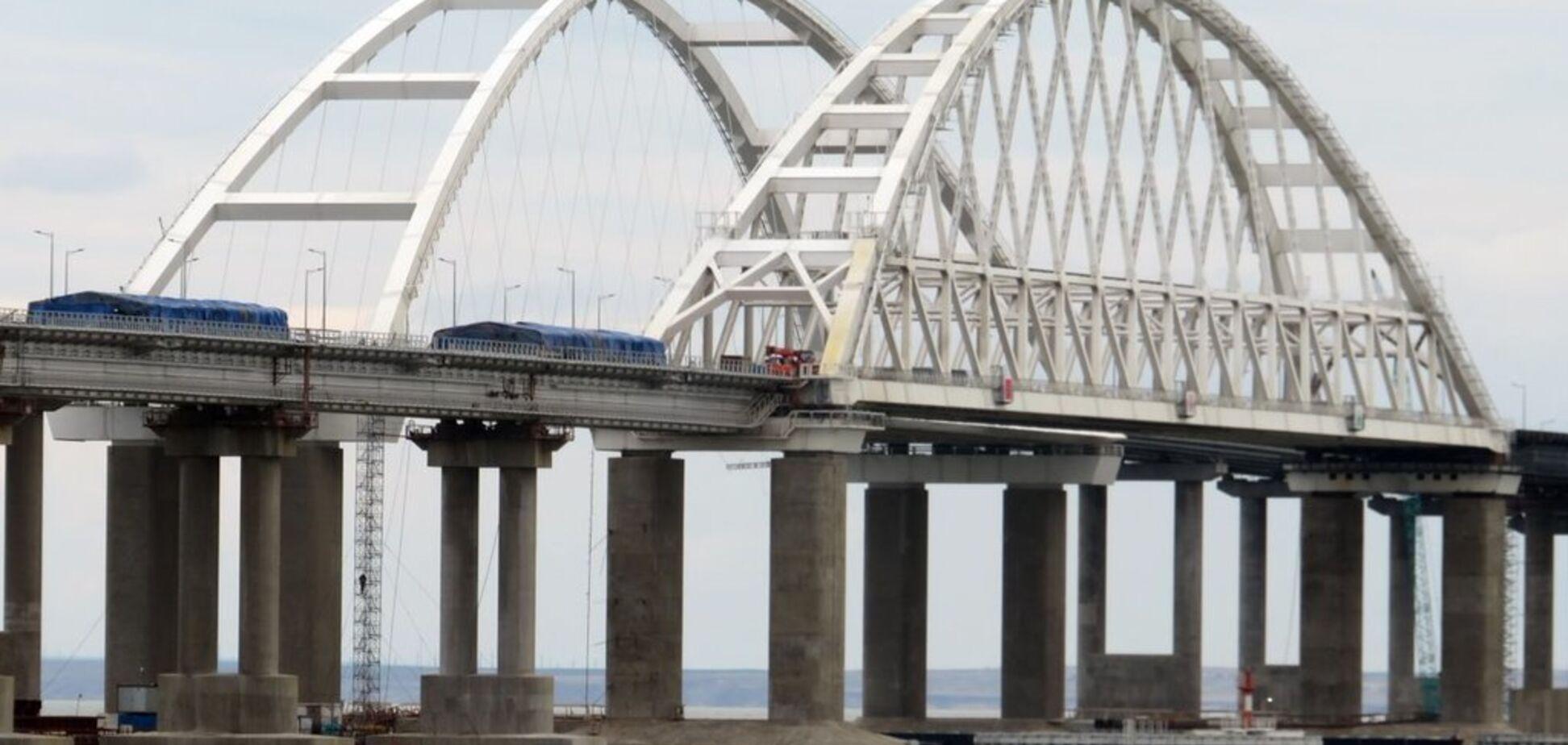В России испугались крушения Крымского моста и ввели экстренные меры