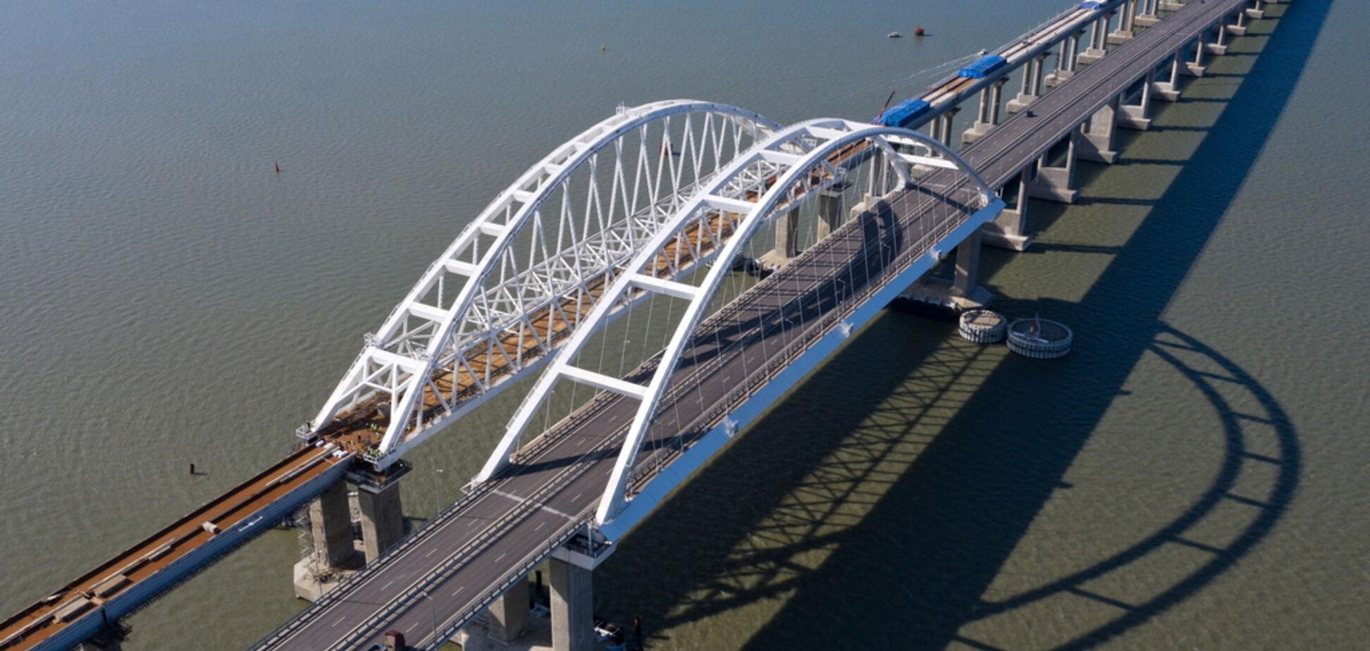 'Поезд сойдет с рельсов': инженер предупредил о катастрофе на Крымском мосту