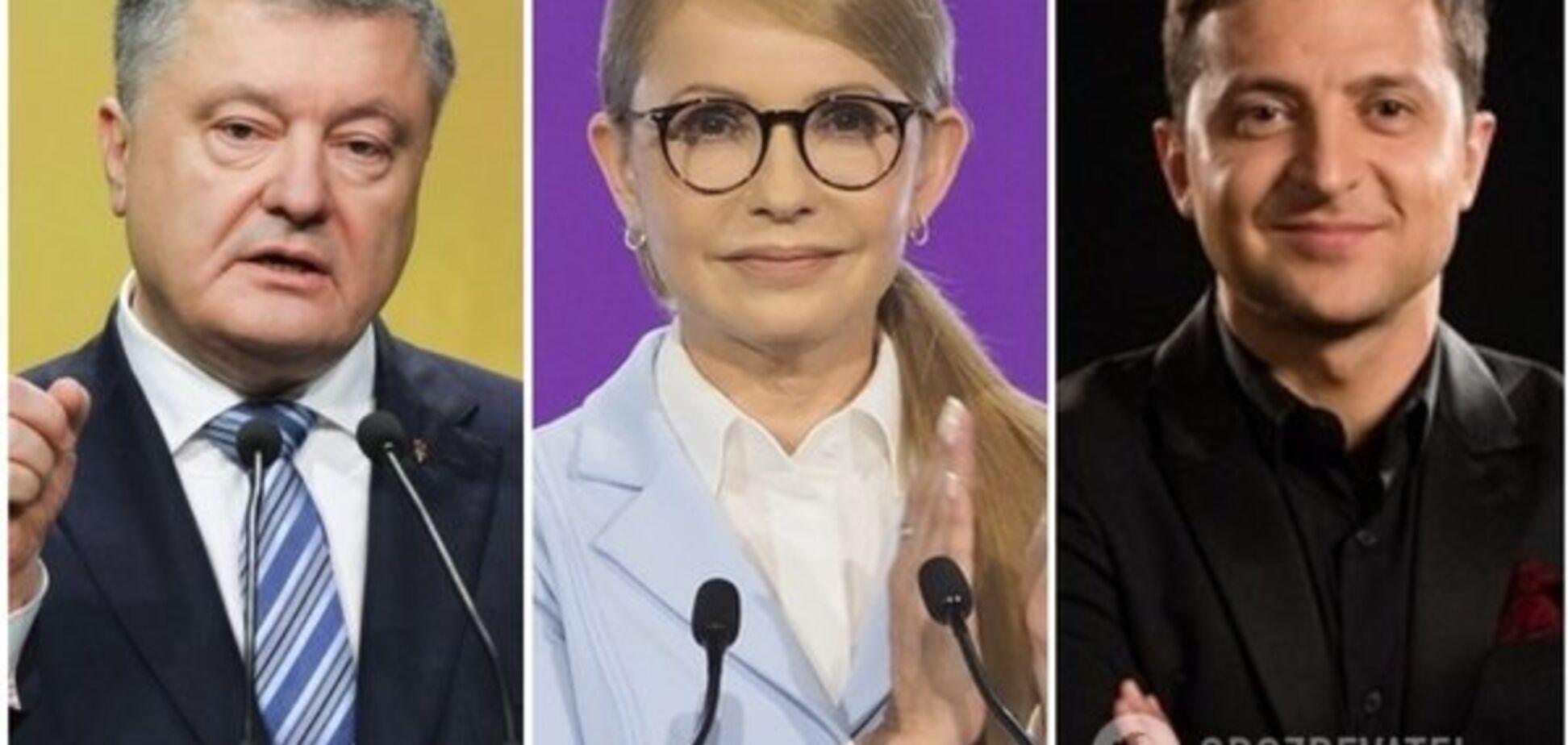 Порошенко збільшує відрив від Тимошенко — Социс