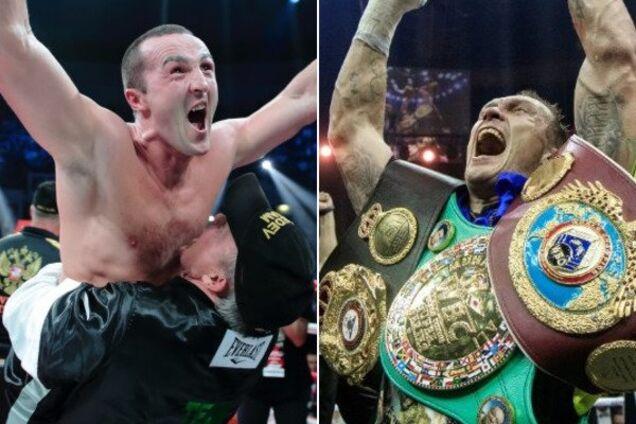 Російського боксера позбавили пояса Усика