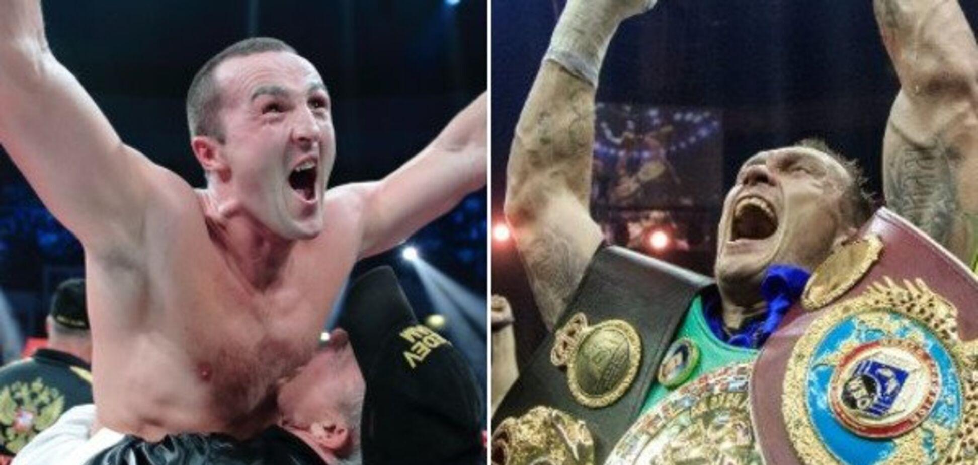 Российского боксера лишили пояса Усика и выбросили из рейтинга
