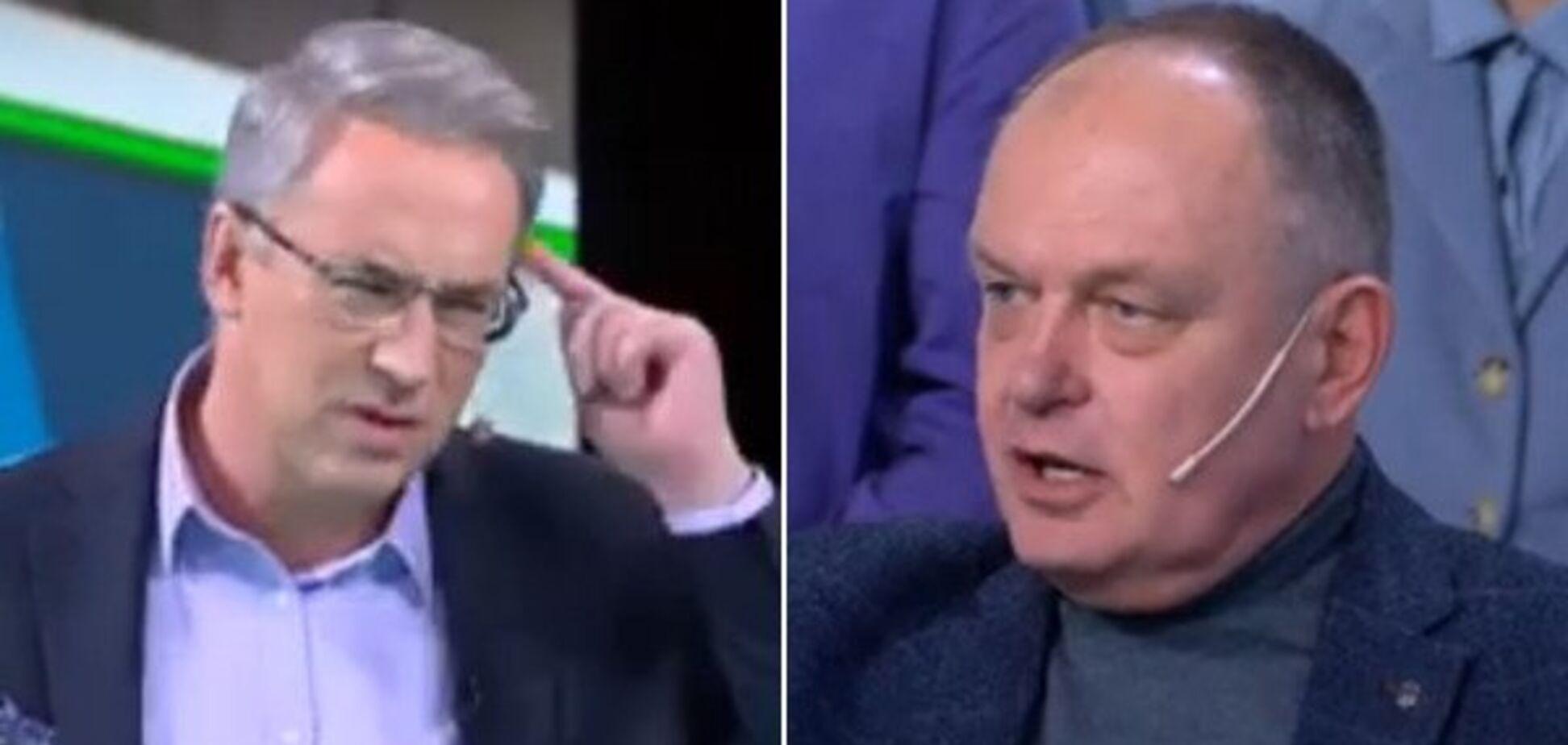 'Ідіть відпочивати!' Українського політолога зі скандалом вигнали з прямого ефіру росТБ