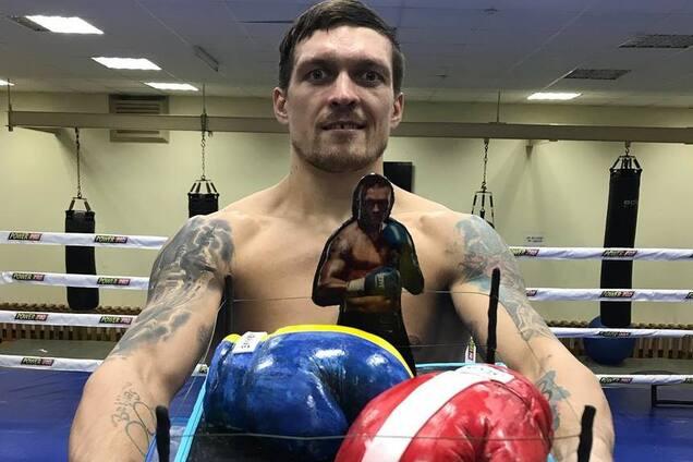 Усик поразил олимпийского чемпиона трюком на тренировке