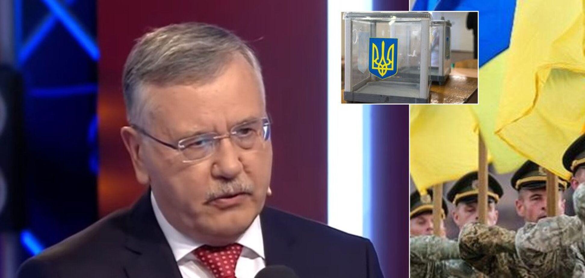 'Є план': Гриценко про війну з РФ, скандал в оборонці та 'ополчєночку' Світлану Дрюк