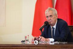 ''Трансляция пропаганды РФ'': МИД Украины резко раскритиковало заявление чешского друга Путина
