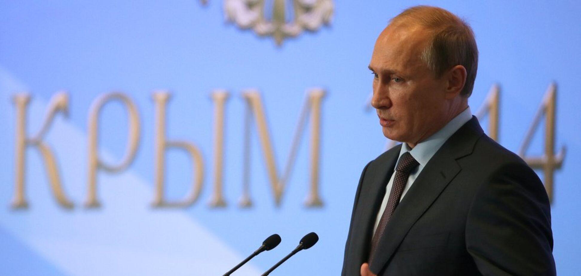 'Украинцы должны убивать украинцев': Парубий озвучил план Путина по Крыму