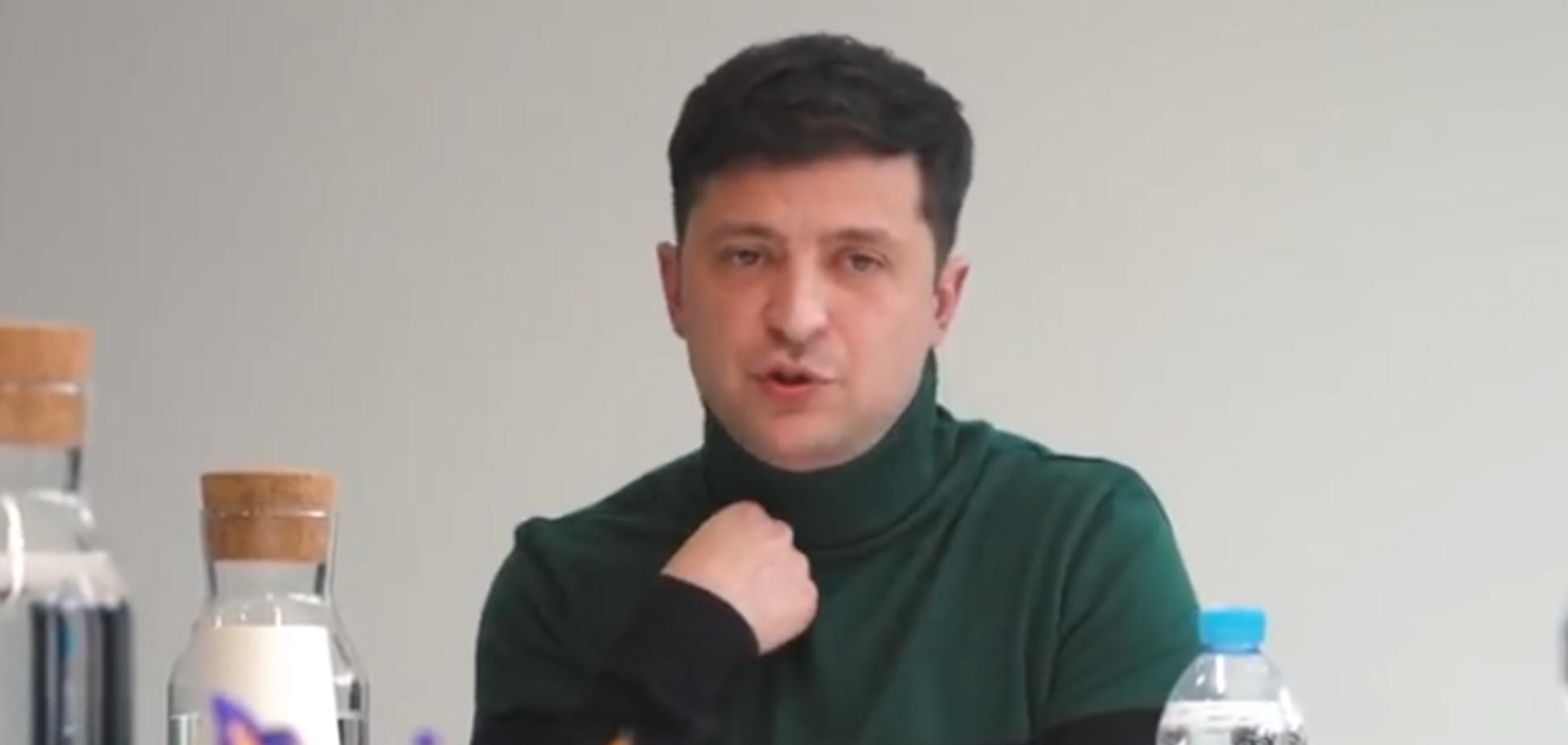 'Нужно говорить с РФ и прекратить стрелять!' Зеленский рассказал, как решит вопрос с Крымом и Донбассом