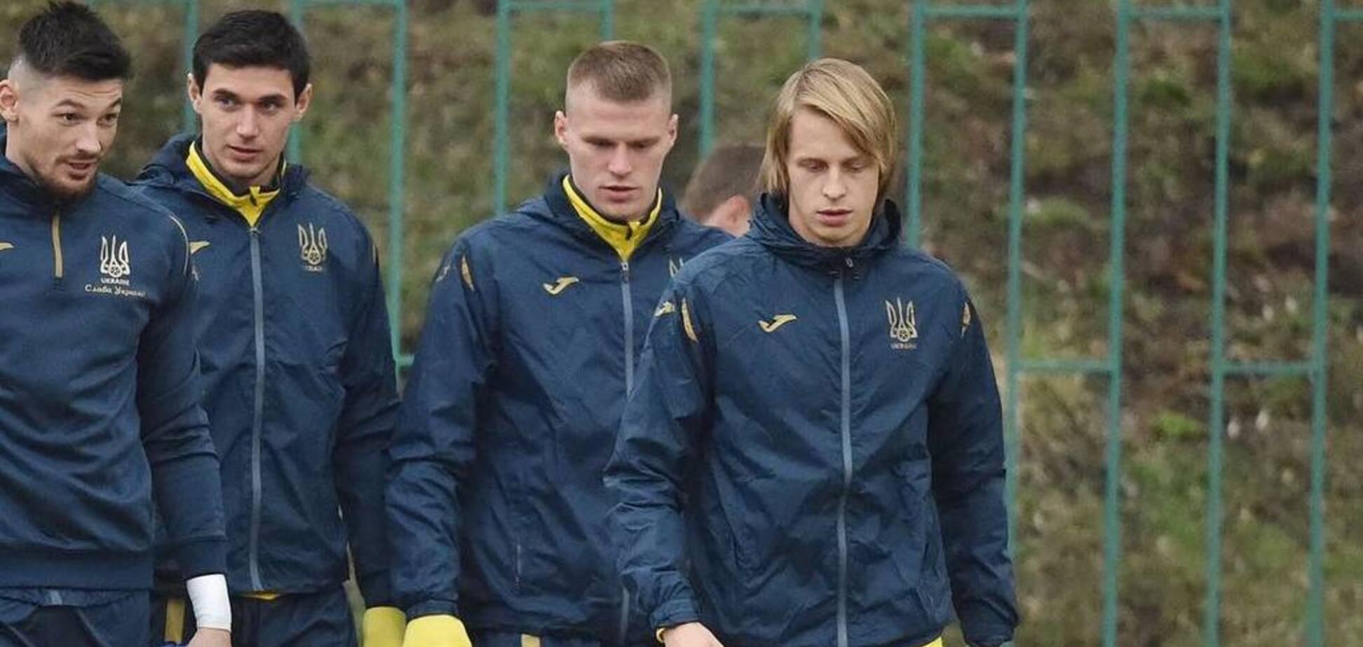 Шевченко отказался от еще одного игрока 'Динамо' перед матчем с Португалией