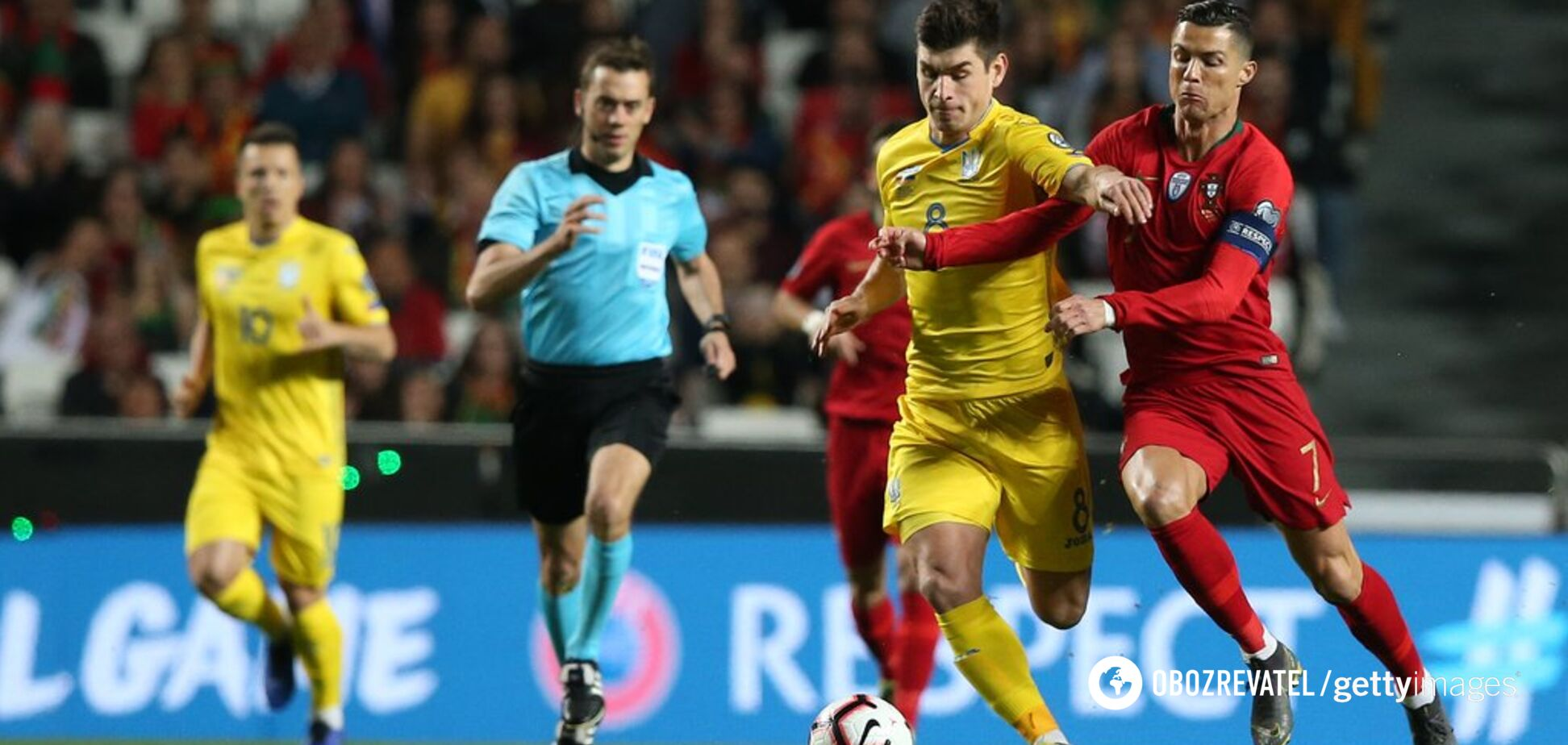 Україна – Португалія – 2-1: відео голів