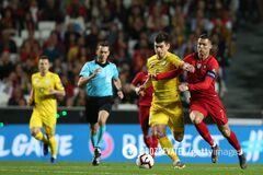 Украина сотворила сенсацию в Португалии в отборе на Евро-2020