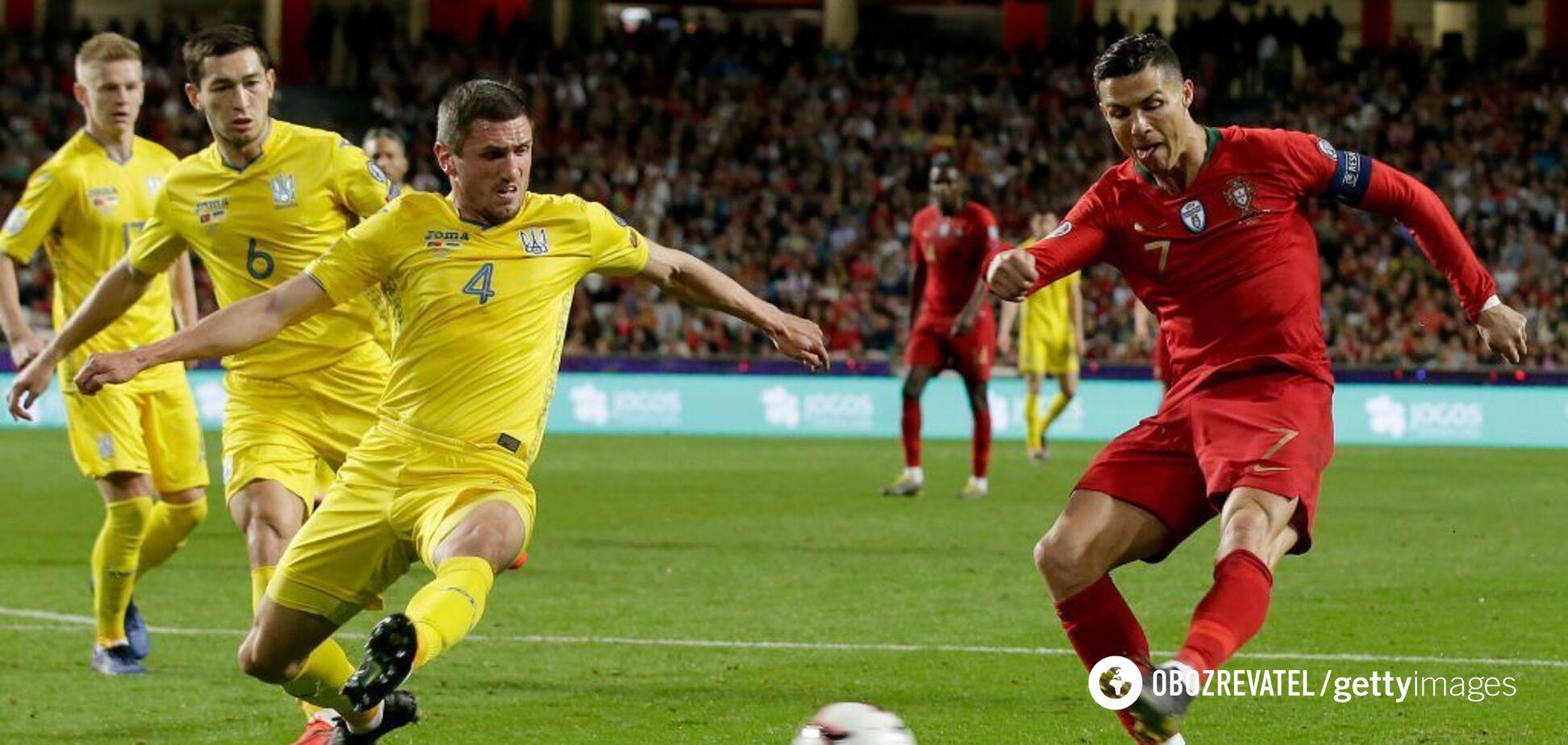Украина остановила Роналду: результаты отбора на Евро-2020 22 марта