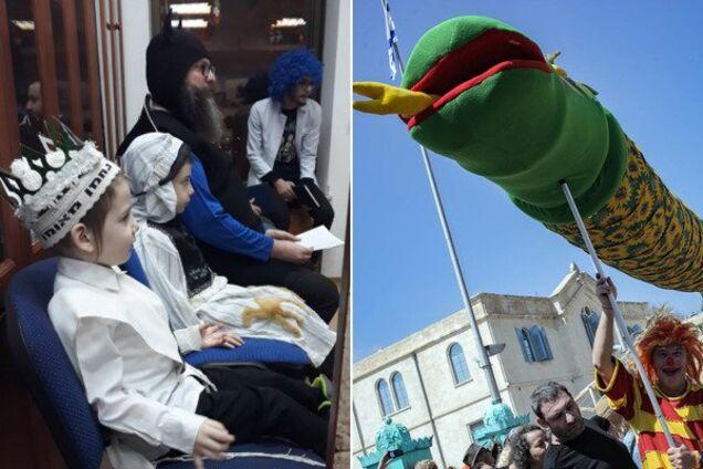 В Израиле отметили самый яркий праздник в году: красочные фото и видео Пурима