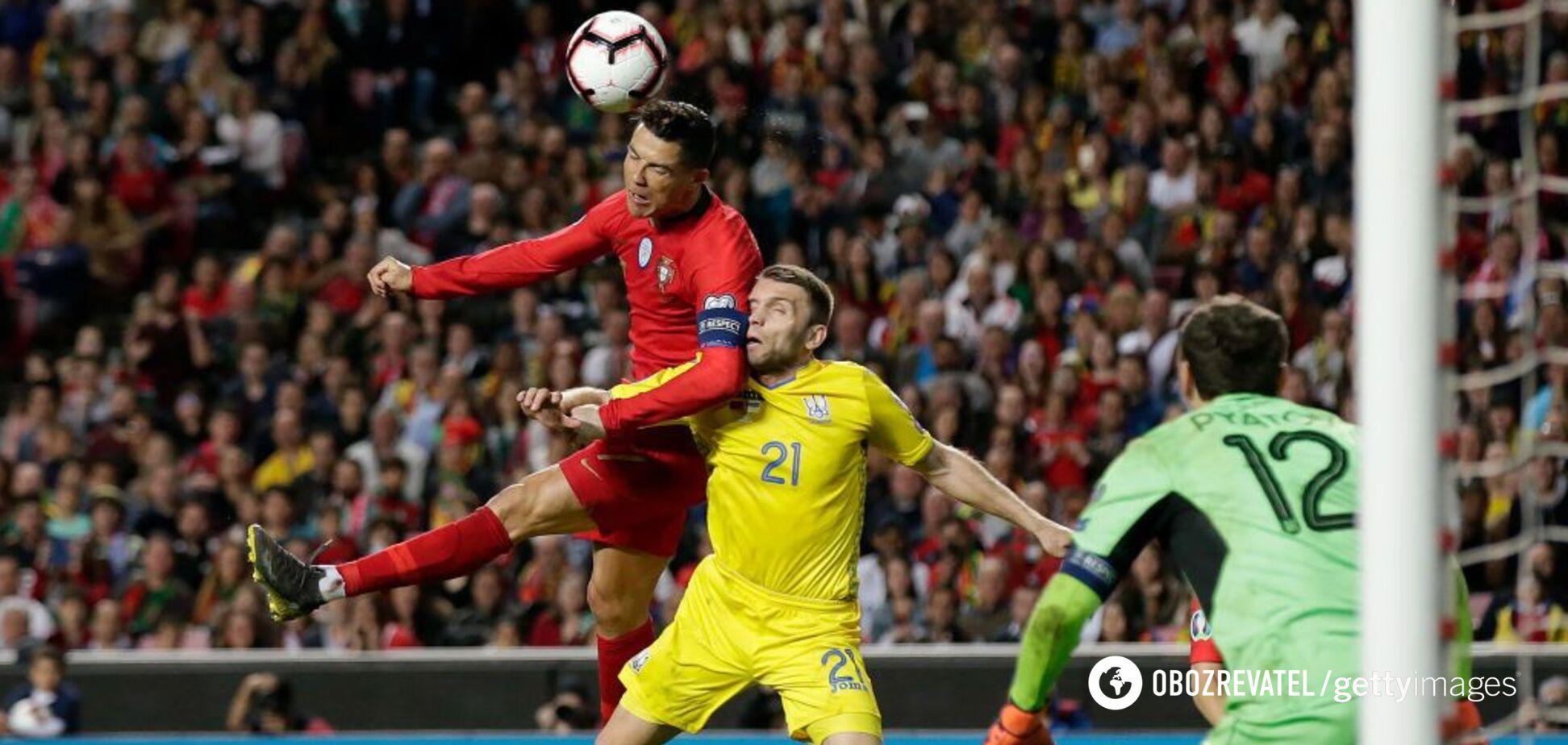 Жах Роналду: як Україна зупинила чемпіона Європи Португалію