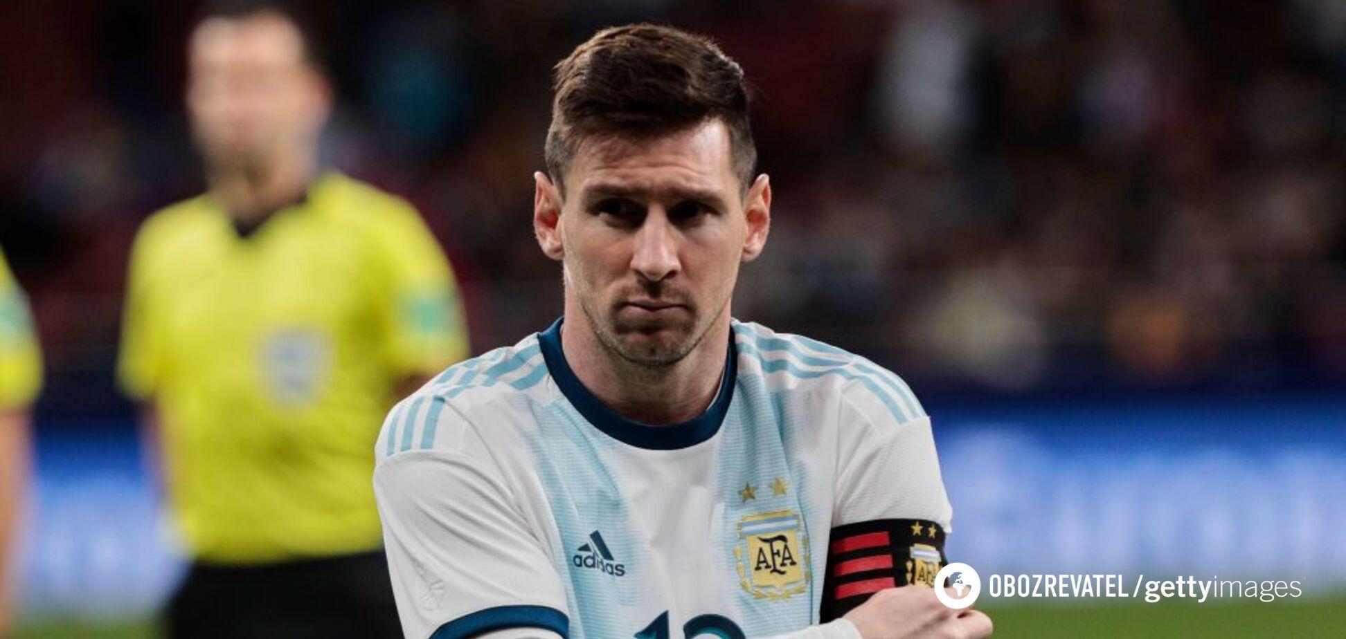 Повернення Мессі: Аргентина осоромилася в Мадриді