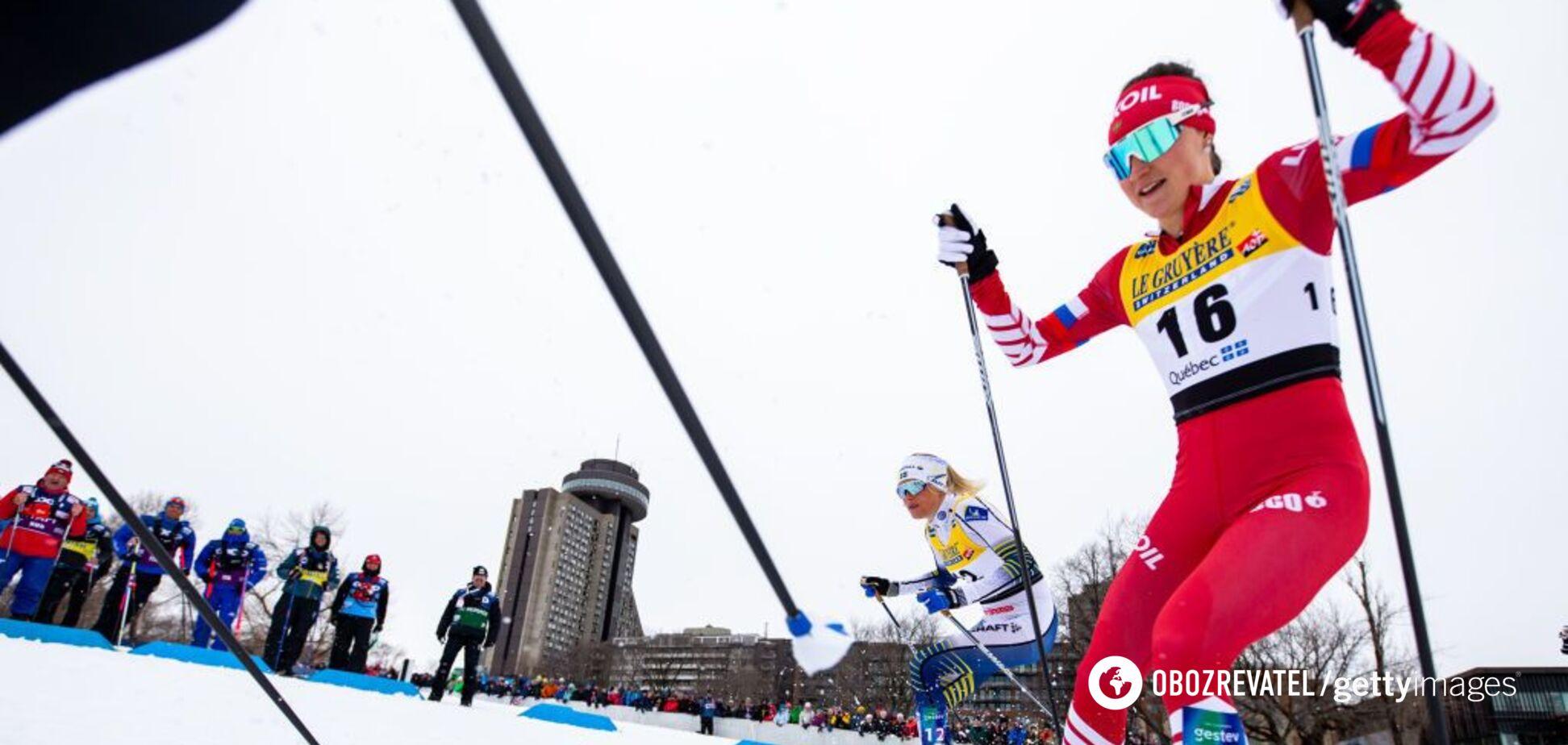 Со всего размаху: российская лыжница совершила свинский поступок на Кубке мира
