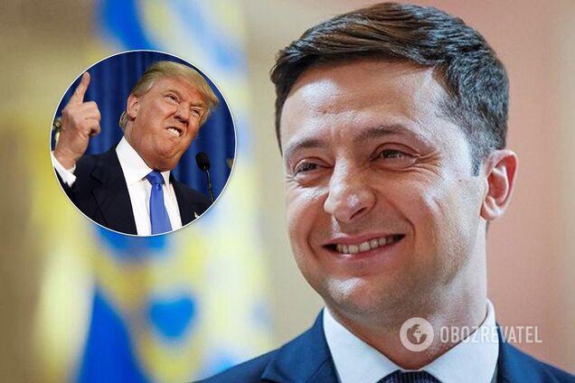 Дональд Трамп и Владимир Зеленский